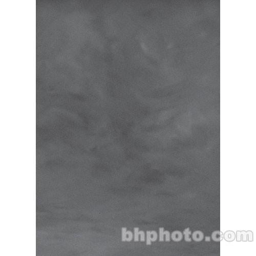Studio Dynamics Canvas Background, Lightstand Mount - 8x10' - Medium Gray Texture