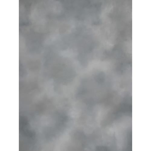 Studio Dynamics Canvas Background, Studio Mount - 8x10' - Medium Gray Texture