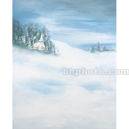 Studio Dynamics Canvas Scenic Background (9 x 12', Church )