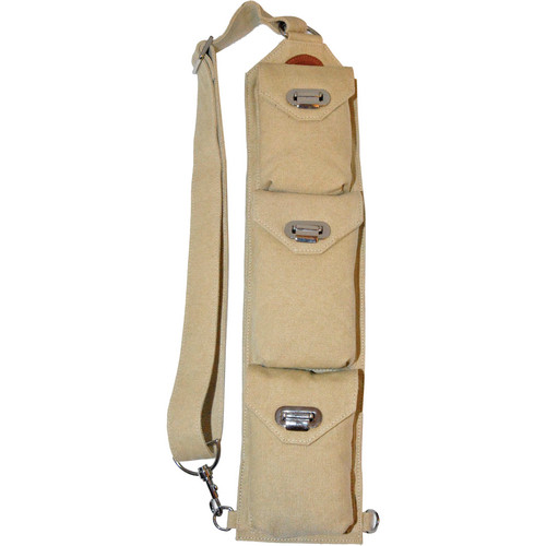 Sucaro Freedom Strap with Drop Lock Flaps (Beige Canvas)