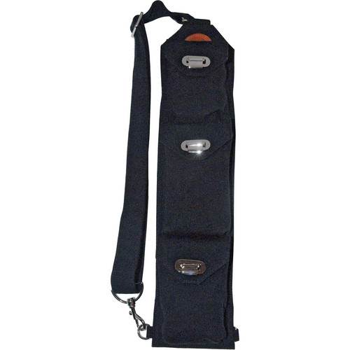 Sucaro Freedom Strap with Drop Lock Flaps (Black Canvas)