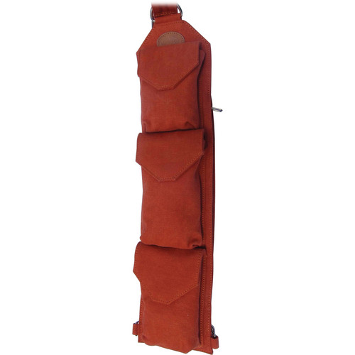 Sucaro Freedom Strap with Magnetic Flaps (Burnt Orange Canvas)
