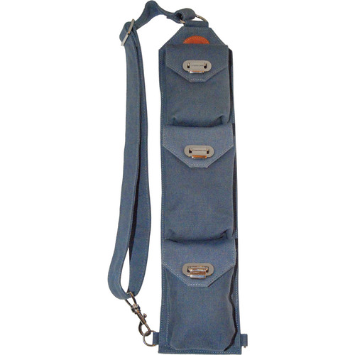 Sucaro Freedom Strap with Drop Lock Flaps (Blue Canvas)