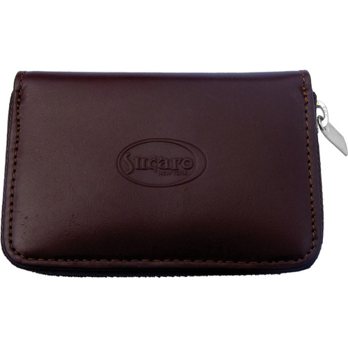 Sucaro Full Zippered Wallet (Brown Leather)