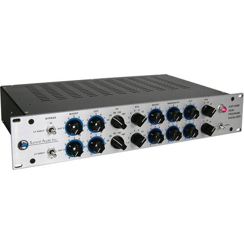 Summit Audio EQP-200B - Dual Program Equalizer