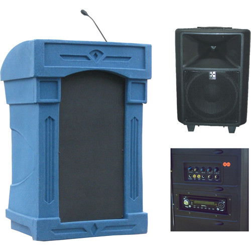 Summit Lecterns DaVinci Freedom Lectern (Blue Granite)