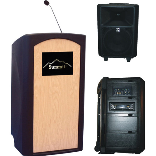 Summit Lecterns Freedom Lectern (Black)