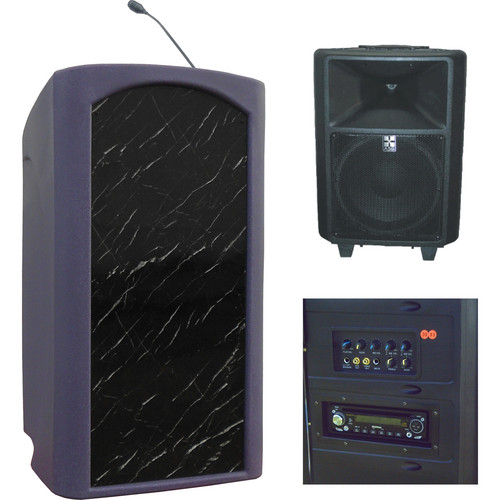 Summit Lecterns Freedom Lectern (Purple Granite)
