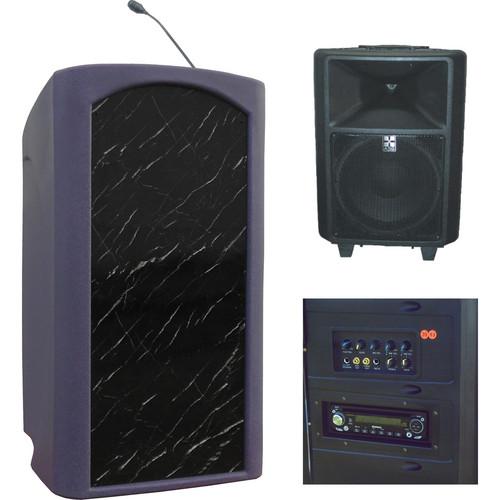 Summit Lecterns Freedom Lectern (Purple Granite)