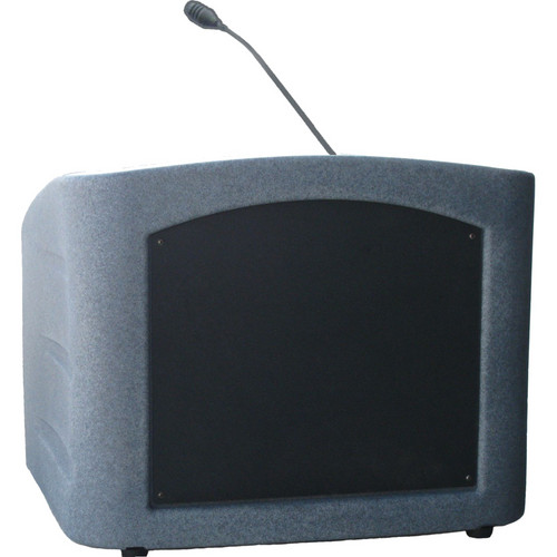 Summit Lecterns Integrator Desktop Lectern (Gray Granite)