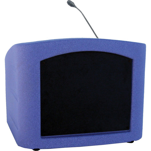 Summit Lecterns Integrator Desktop Lectern (Purple Granite)