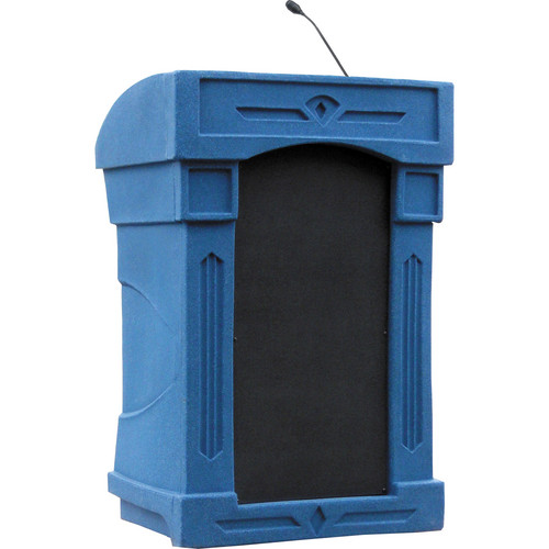 Summit Lecterns DaVinci Integrator Lectern (Blue Granite)