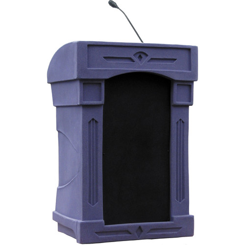 Summit Lecterns DaVinci Integrator Lectern (Purple Granite)