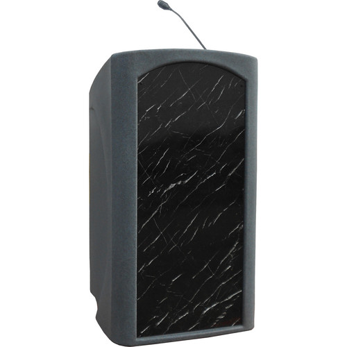 Summit Lecterns Integrator Lectern (Gray Granite)
