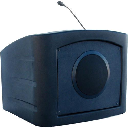 Summit Lecterns Presenter Desktop Lectern (Black)