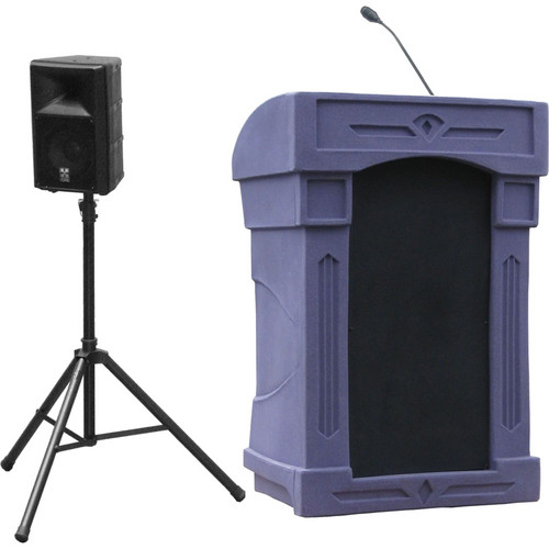 Summit Lecterns DaVinci Presenter Lectern (Purple Granite)