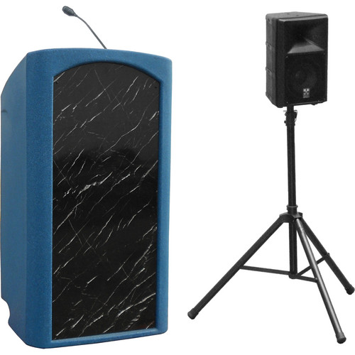 Summit Lecterns Presenter Lectern (Blue Granite)
