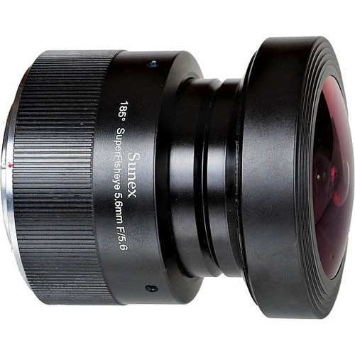 Sunex 5.6mm f/5.6 SuperFisheye Fixed Focus Lens for Nikon Digital SLR