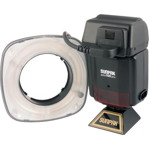 Sunpak Auto 16R Macro Ring Flash (Guide No. 1-16 m)