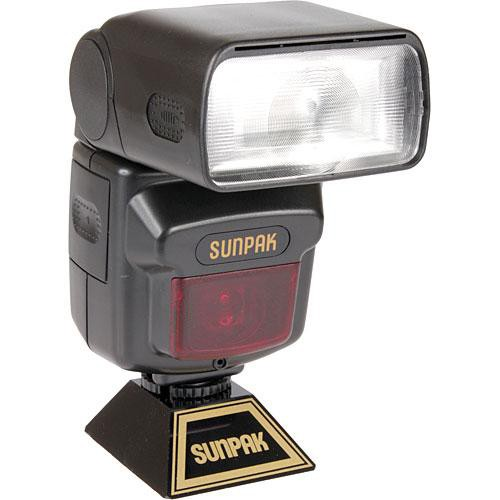 Sunpak MZ-440AF TTL Flash for Sony/Minolta Cameras