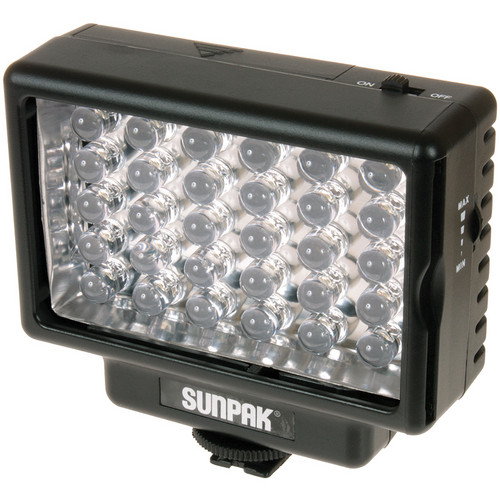 Sunpak LED 30 Video Light & Compact Video Bracket Kit