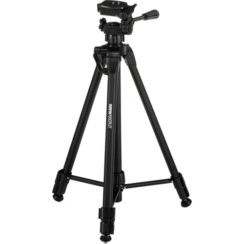 Sunpak 6601UT Tripod with 3-Way, Pan-and-Tilt Head