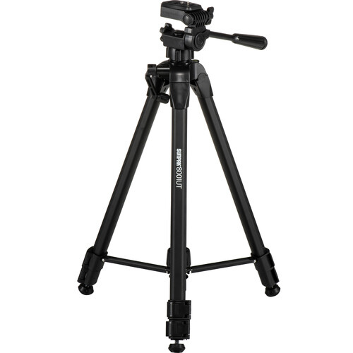 Sunpak 8001UT Tripod with 3-Way, Pan-and-Tilt Head
