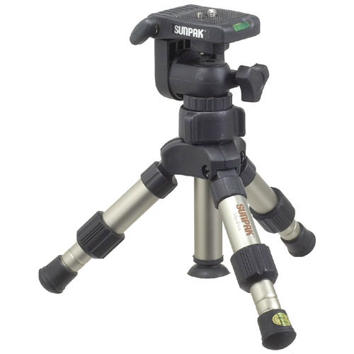 Sunpak 2003 Mini Plus Tripod with 3-Way Panhead