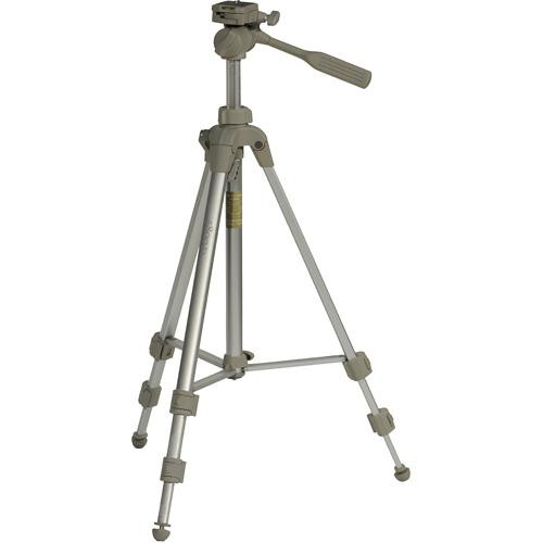 Sunpak 5800D Tripod with 3-Way Pan/Tilt Head and Two Quick Release Plates