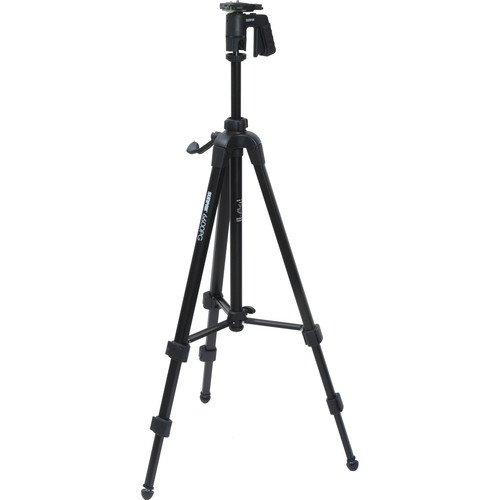 Sunpak 6600CPG Tripod with Pistol Grip Ball Head (Black)