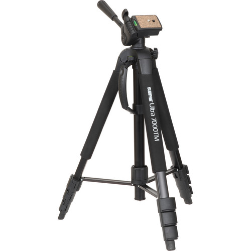 Sunpak Ultra 7000TM Tri-Monopod with 3-Way, Pan-and-Tilt Head