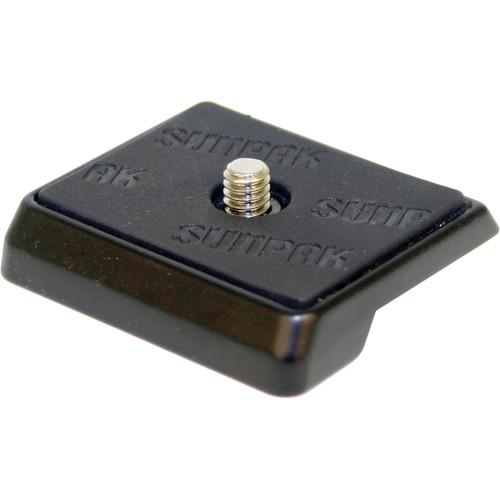 Sunpak Quick Release Plate for 4300 Pro B Tripod - Black