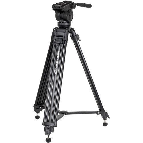 Sunpak Video Pro-M3 Tripod with Fluid Head (Black)