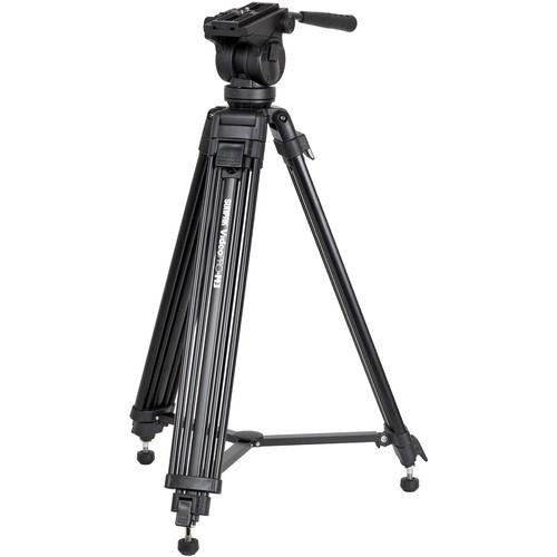 Sunpak Video Pro-M3 Tripod with Fluid Head (Black)