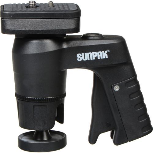 Sunpak Compact Pistol Grip Ball Head w/ Quick Release Plate