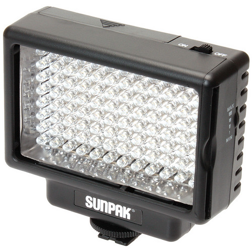Sunpak VL-LED-96 Compact Video Light & Compact Video Bracket Kit