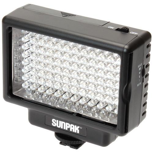 Sunpak VL-LED-96 Compact Video Light & Compact Video Bracket Kit