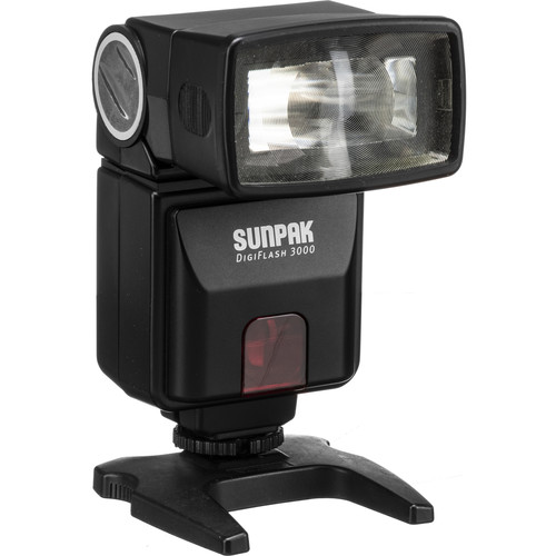 Sunpak DF3000C Digital Flash for Canon Cameras