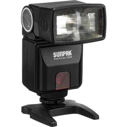 Sunpak DF3000C Digital Flash for Canon Cameras