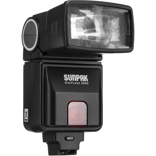 Sunpak DF3000C Digital Flash for Sony/Minolta Cameras