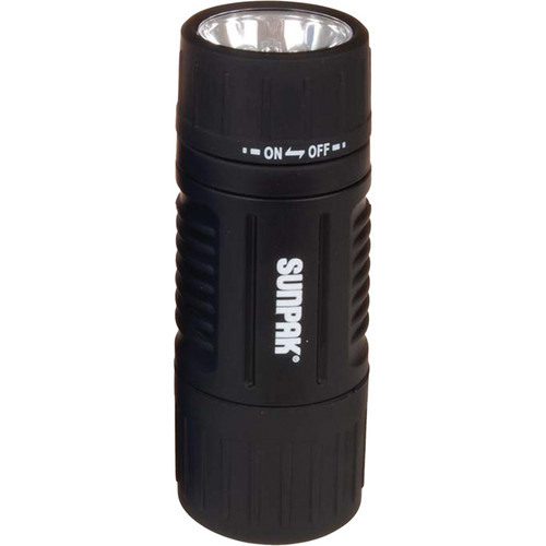 Sunpak Mini LED Flashlight and Lantern  (Black)