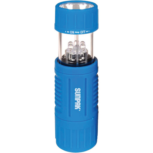 Sunpak Mini LED Flashlight and Lantern  (Blue)
