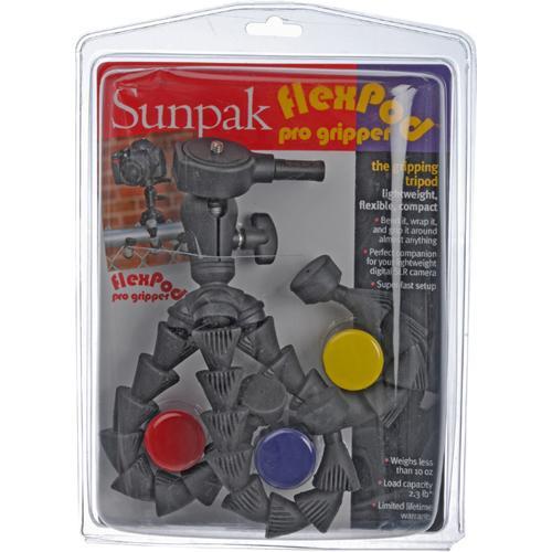 Sunpak FlexPod Pro Gripper Flexible Mini-Tripod (Black)