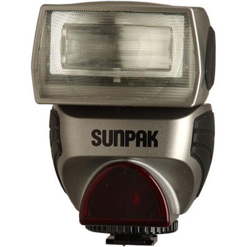 Sunpak PZ40X II Flash for Sony/Minolta Cameras (Silver)