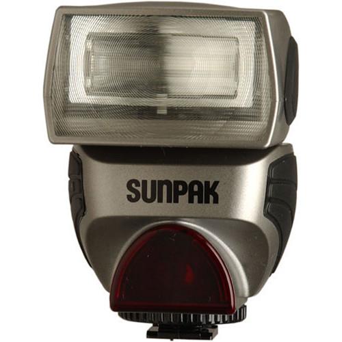 Sunpak PZ40X II Flash for Sony/Minolta Cameras (Silver)