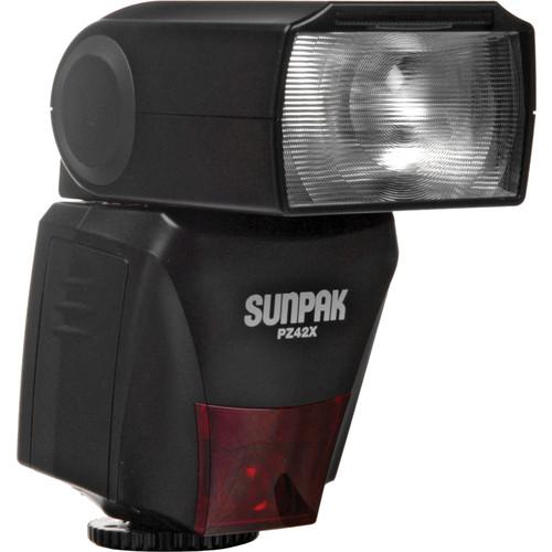 Sunpak PZ42X TTL Flash for Canon DSLR Cameras
