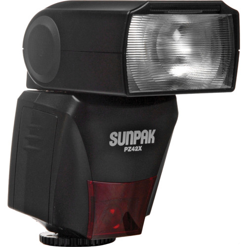 Sunpak PZ42X TTL Flash for Nikon DSLR Cameras