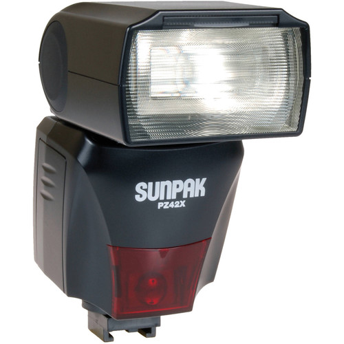 Sunpak PZ42X TTL Flash for Sony/Minolta DSLR Cameras