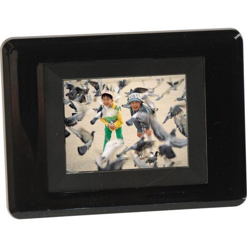 "Sunpak SF-035-22000US, 3.5"" Digital Picture Frame (Acrylic) Black)"
