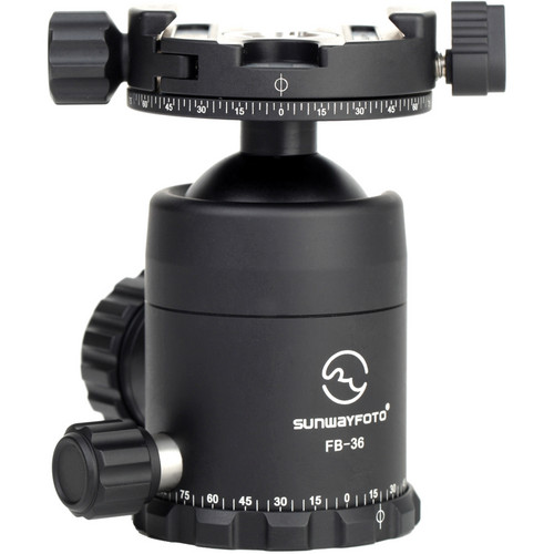 Sunwayfoto FB-36DDH2 Ball Head With Panning Clamp